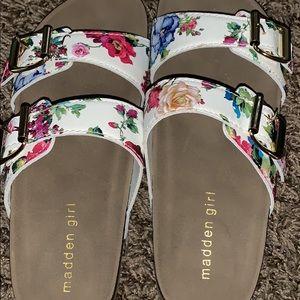 Madden girl Birkenstock sandals
